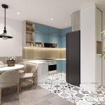 Cho thuê Orchard Parkview 2 phòng ngủ Novaland – 69m2 full nội thất view quân khu 7 xanh mát giá 19 triệu